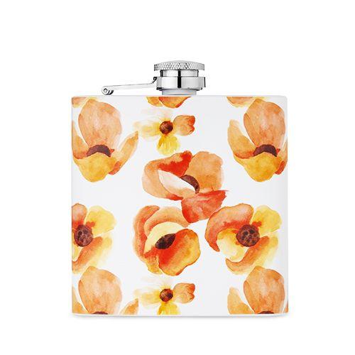 6 oz Poppy Flask by Twine