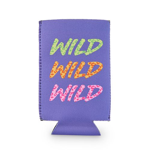 Wild Wild Wild Slim Can Sleeve by Blush