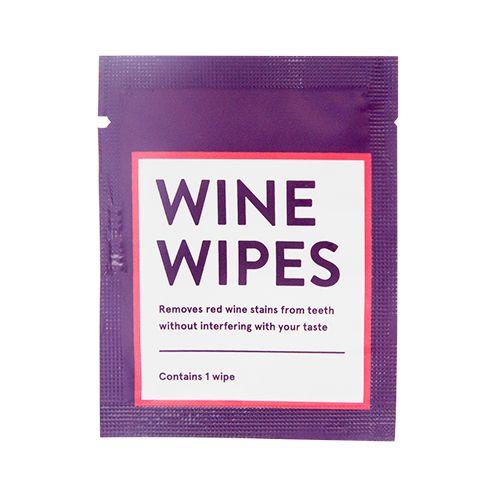 Wine Wipes Singles