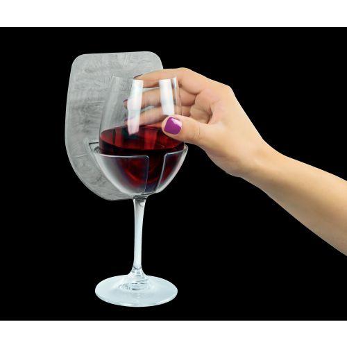 Sipski Shower Wine Holder - Marble