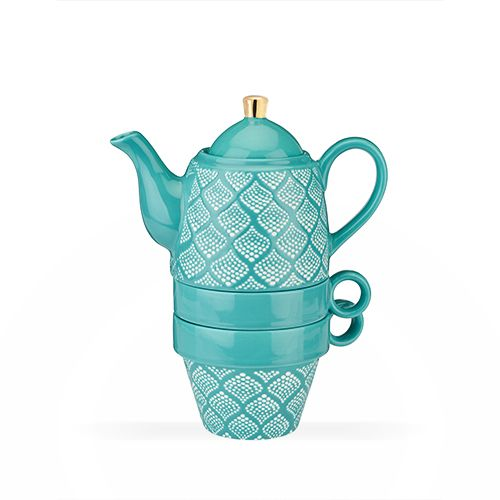 Taylor Bali Turquoise Tea for Two by Pinky Up