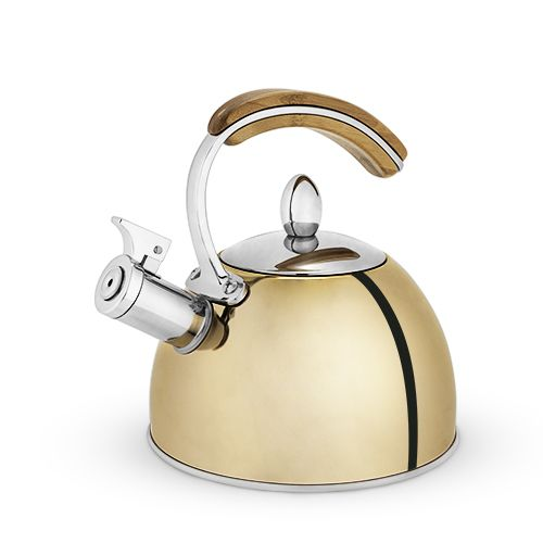 Presley Gold Tea Kettle by Pinky Up