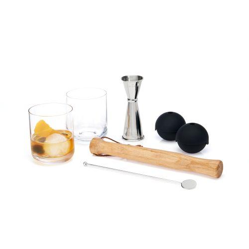 Muddled Cocktail Barware Set (VISKI)