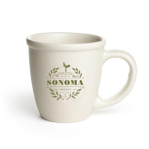 Morning Mug Off White Vintage Sonoma
