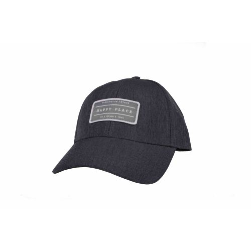 Washington Cap Heather Linen Charcoal Happy Place