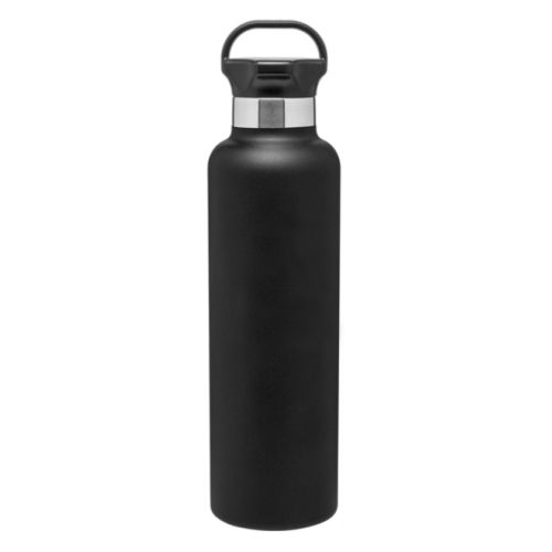 Ascent Black Stainless 25oz Water Bottle