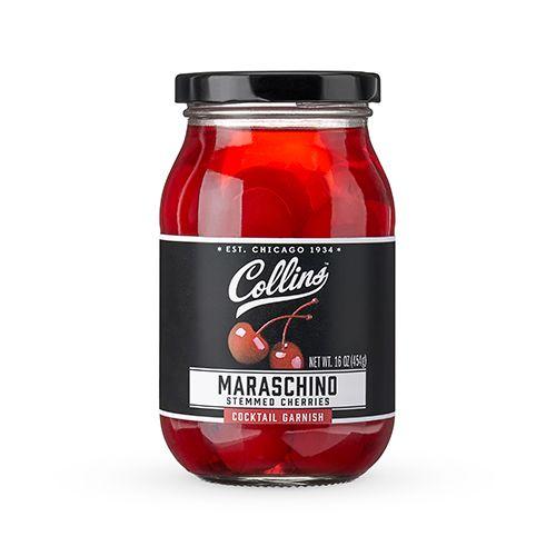 16oz. Stemmed Maraschino Cherries