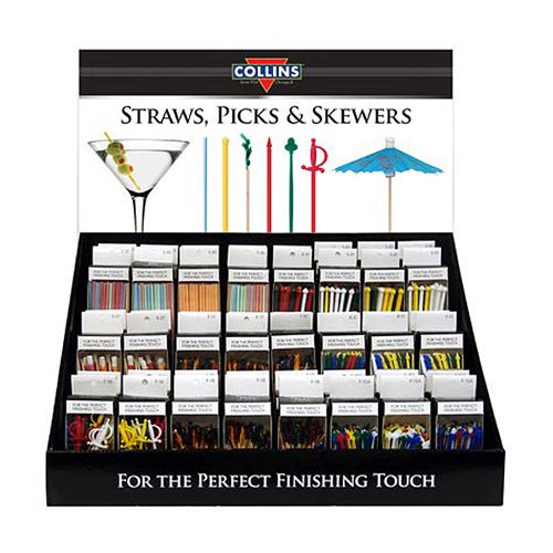 Pre-packed display, 48 piece