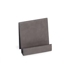 Smart Phone Cradle in Grey Leatherette
