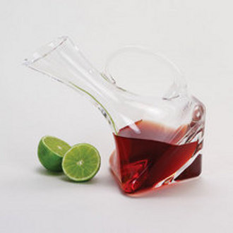 Althea Leaning Square Wine Carafe