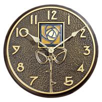 Amber Dard Hunter Rose Clock