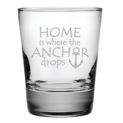 Home is Where the Anchor Is Heavy Base DOF Glasses (set of 4)