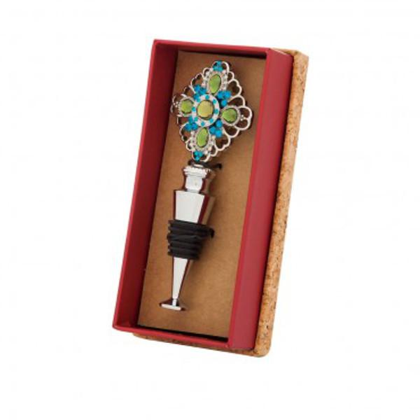 Bejeweled Wine Bottle Stopper