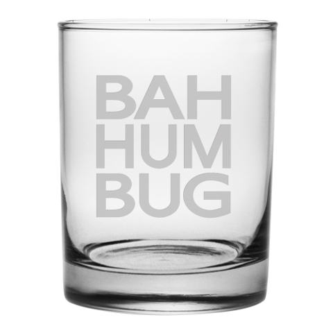 Bah Humbug DOR Glasses (set of 4)