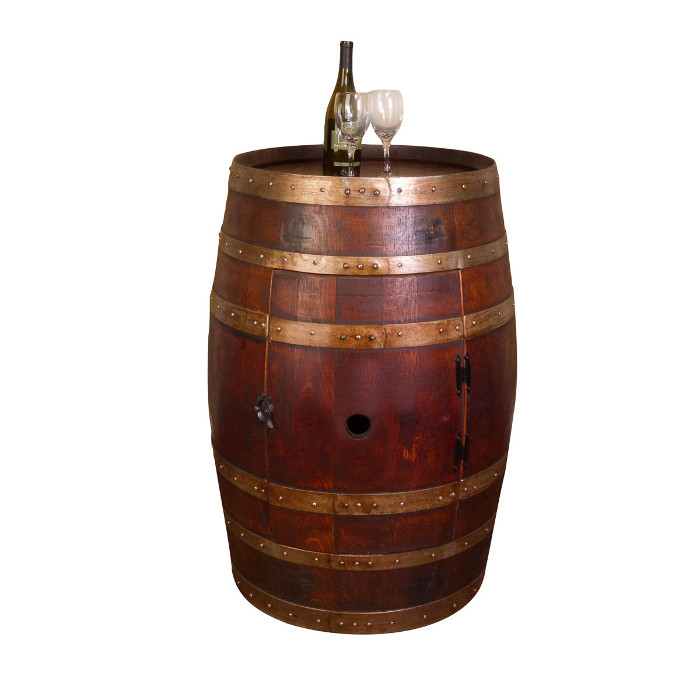 Whole Wine Barrel Cabinet