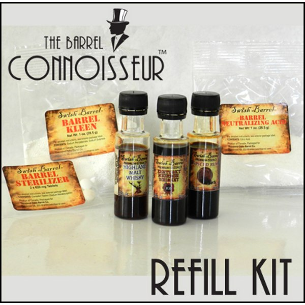 The Barrel Connoisseur Refill Kit