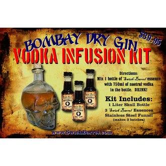 Bombay Dry Gin Vodka Infusion Kit