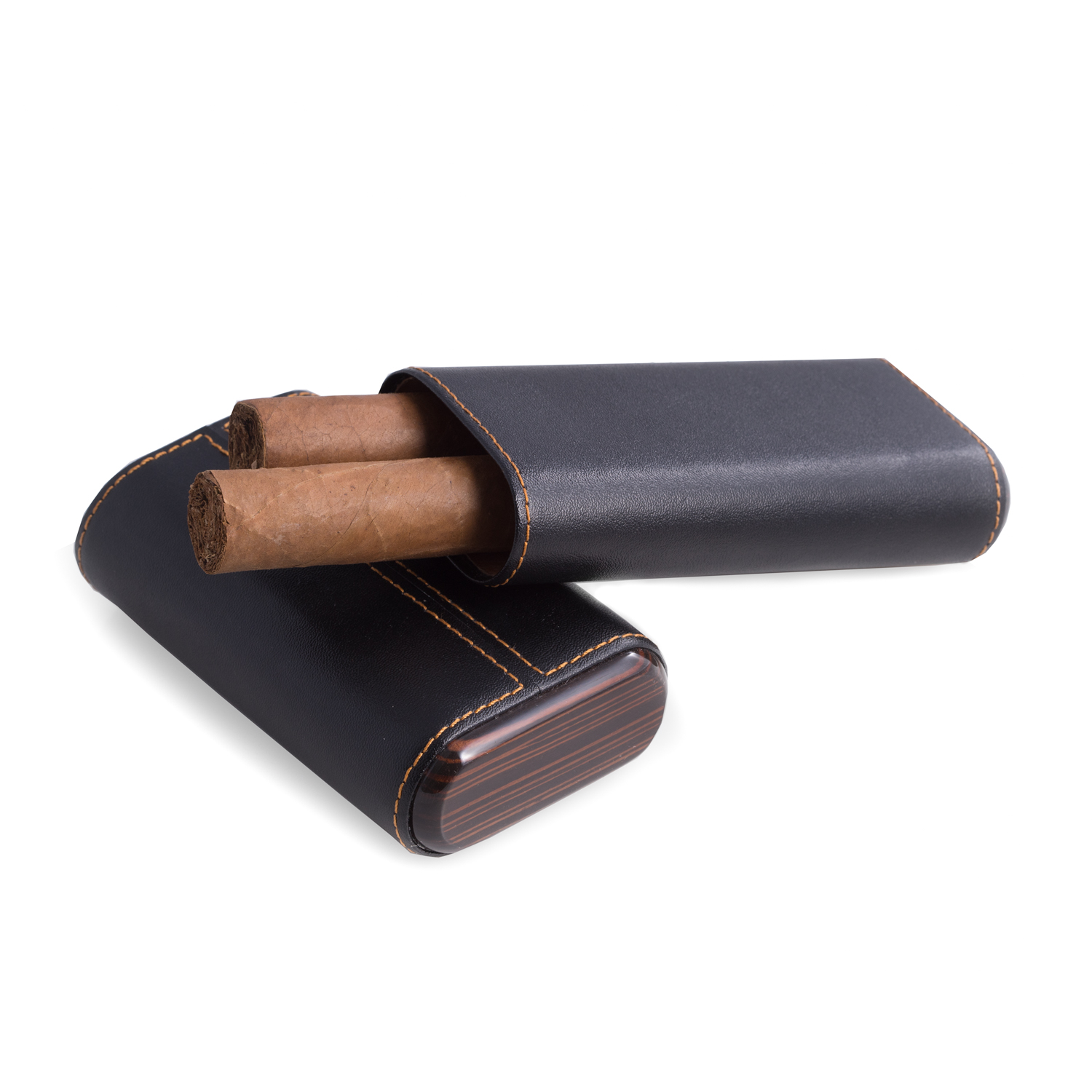Black Three Cigar Holder