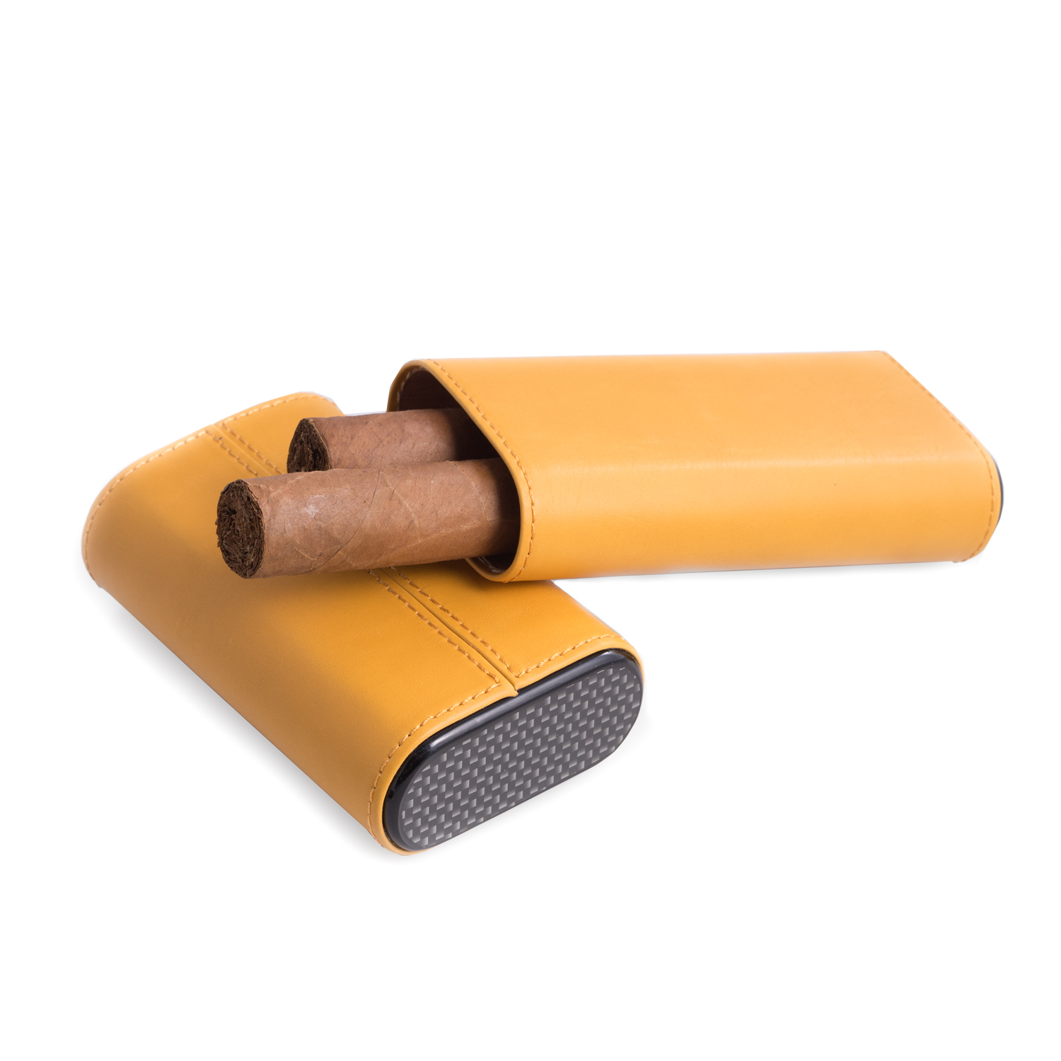 Yellow Three Cigar Holder