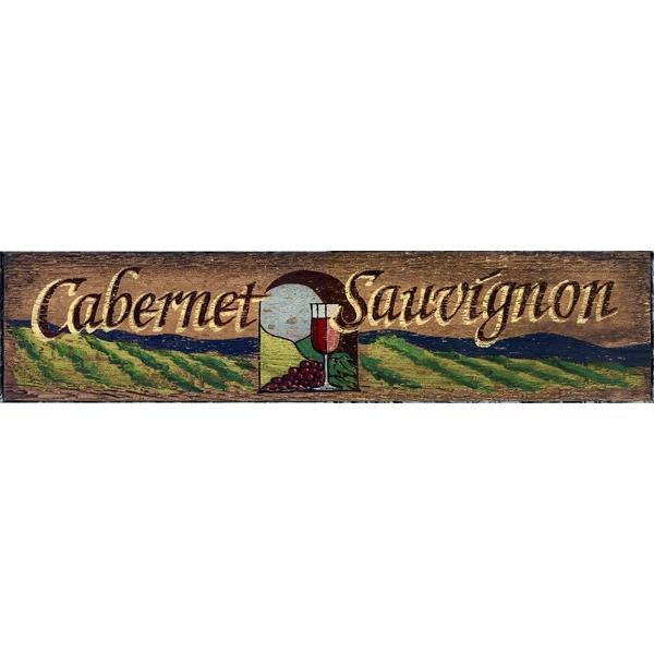 Cabernet Sauvignon Wine Sign