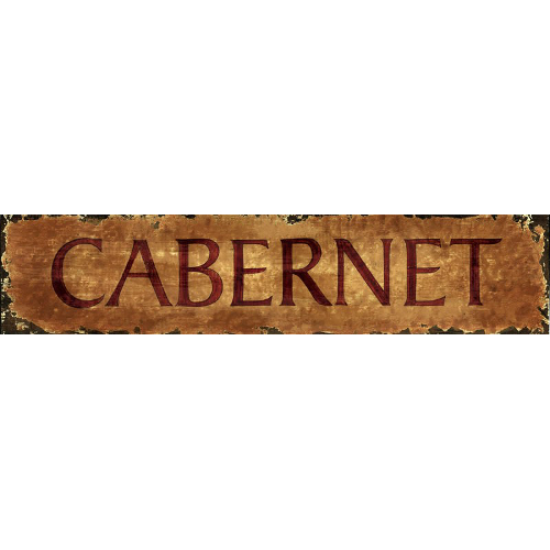 Personalized Cabernet Wine Sign