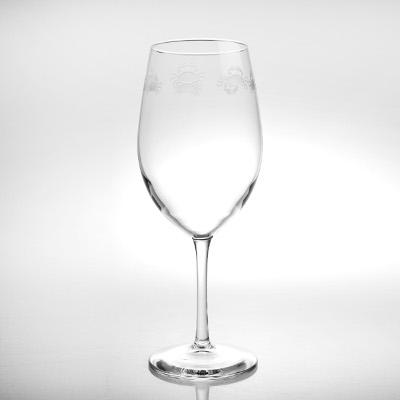 Cast of Crabs Stemmed Wine Glasses (set of 4)