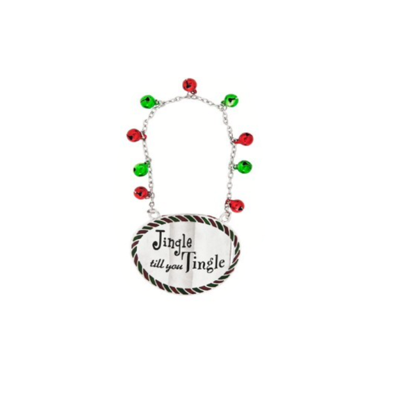 """Jingle till you Tingle"" Bottle Collar"