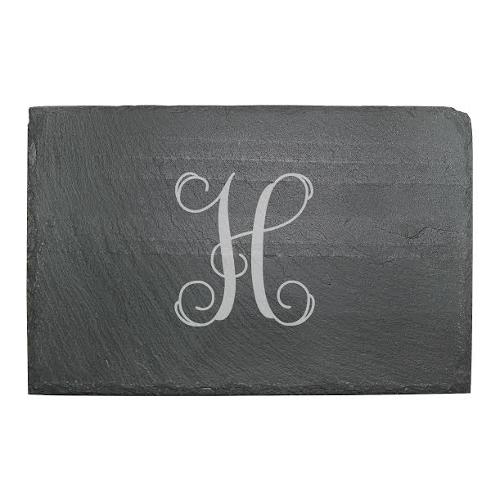 Monogrammed Slate Cheese Board