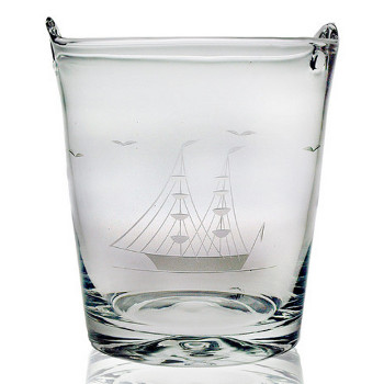 Clipper Ship Ice Bucket Wine Chiller