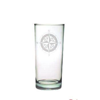 Compass High Ball Glasses (set of 4)