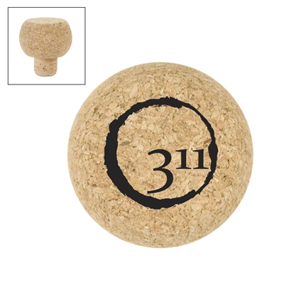 Totally Cork Topper with Logo (set of 24)