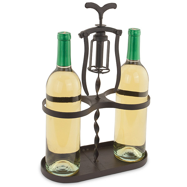Corkscrew Wine Bottle Holder