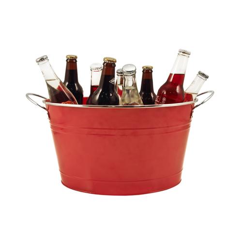 Big Red Galvanized Beverage Chiller Tub