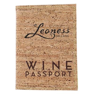 Custom Wine Passport W/ Cork Cover (set of 70)