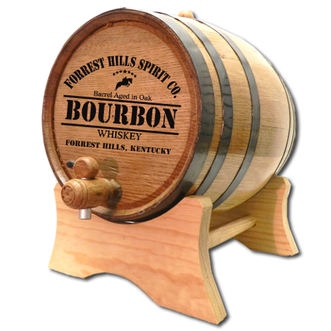 Derby Bourbon Personalized Oak Aging Barrel
