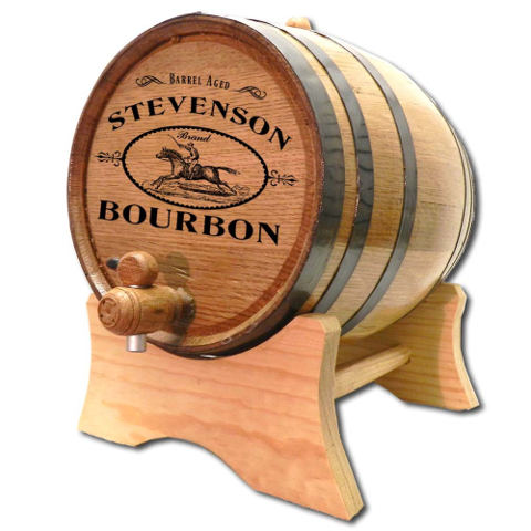 Personalized Derby Bourbon Make Your Own Spirits Oak Aging Barrel