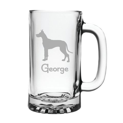 Personalized Pet Breed Beer Mugs (set of 4)
