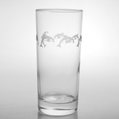 School of Dolphins Cooler Glasses (set of 4)