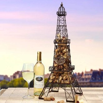 Eiffel Tower Wine Cork Cage