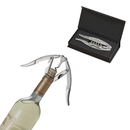 Classic Style Corkscrew with Engraved Gift Box