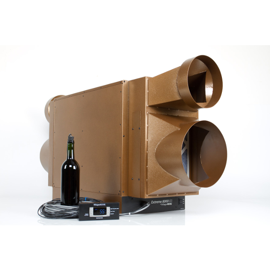 WhisperKool Extreme 8000tiR Fully Ducted Wine Cellar Cooling System