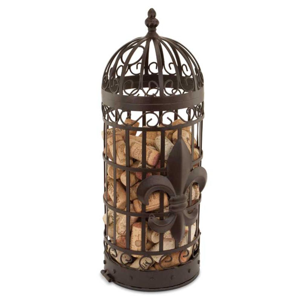 Cork Cage Fleur De Lis Cork Holder