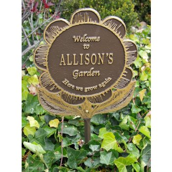 Personalized Garden Plaque