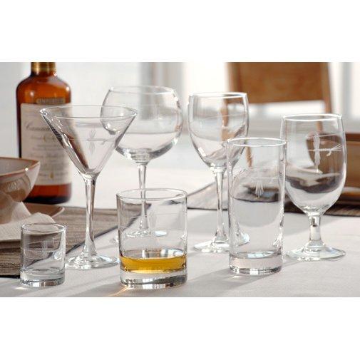 Fly Fishing Glassware