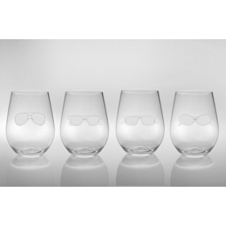 Four Shades of Summer Acrylic Tumblers (set of 4)