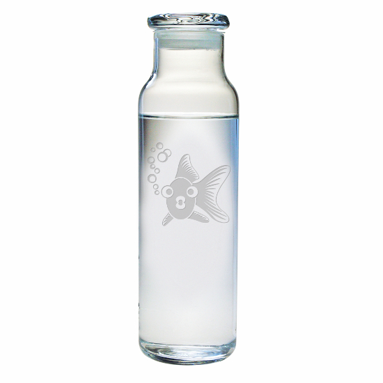 Goldie Water Bottle with Lid