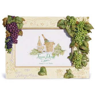 Grapes on the Vine Photo Frame