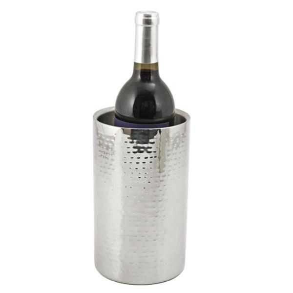 Hammered Metal Wine Bottle Cooler