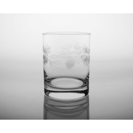 Icy Pine Double Old Fashioned Glasses (set of 4)