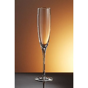 Bottega Del Vino Crystal Champanger Flutes (set of 4)